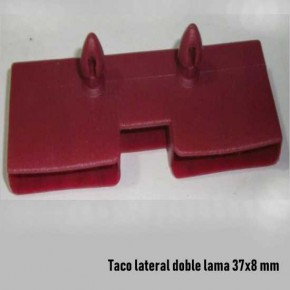 Taco lateral doble lama de 37 mm